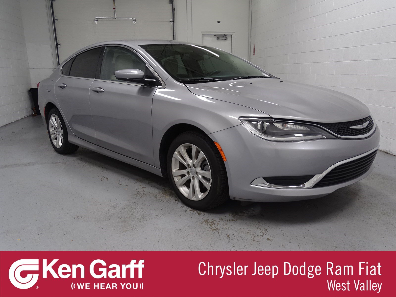 Certified Pre Owned 2016 Chrysler 200 Limited 4dr Car in WEST VALLEY