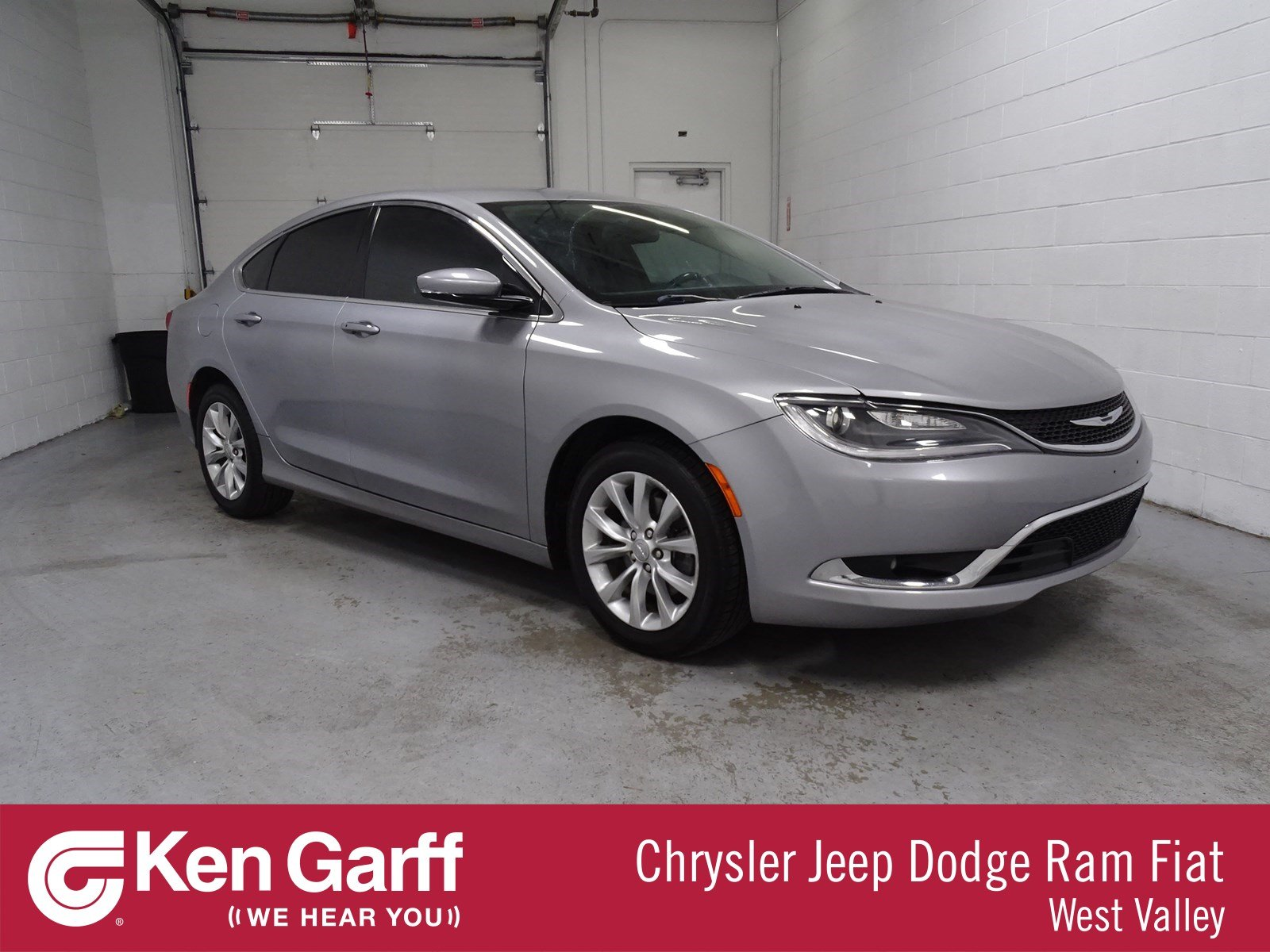 Certified Pre-Owned 2015 Chrysler 200 C