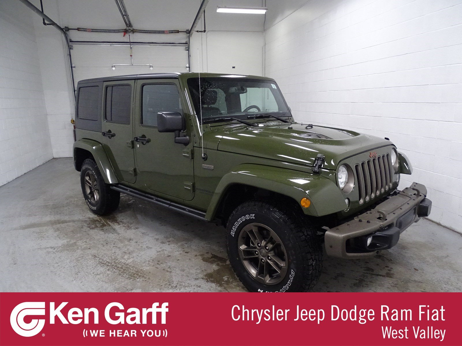 Certified Pre Owned 2016 Jeep Wrangler Unlimited 75th Anniversary