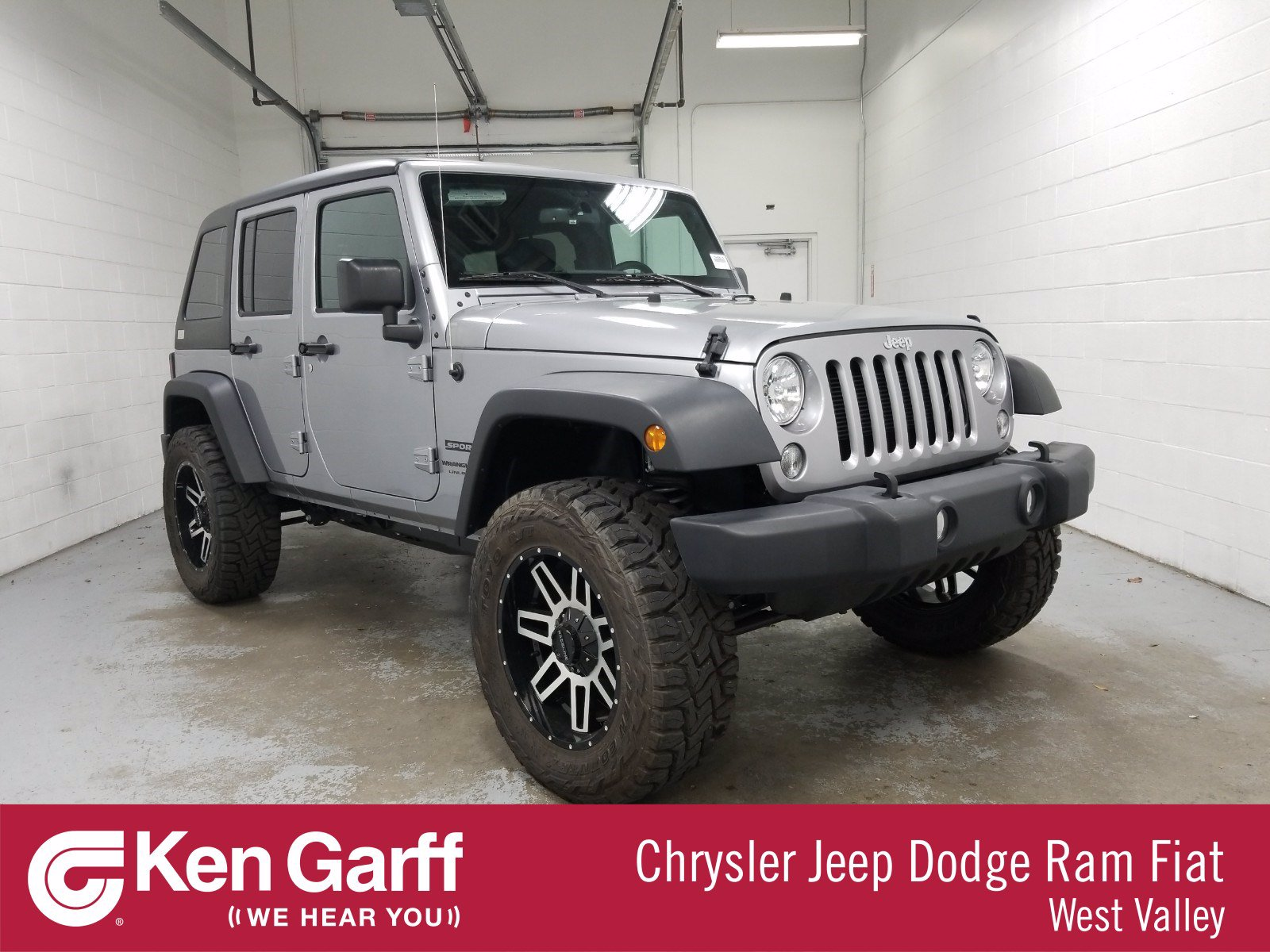 Pre-Owned 2018 Jeep Wrangler JK Unlimited Sport S