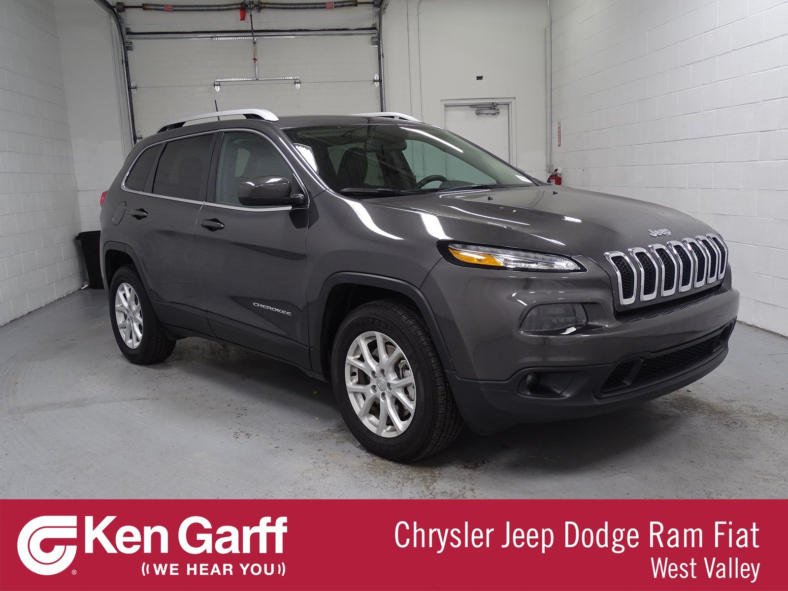 Certified Pre Owned 2018 Jeep Cherokee Latitude Plus