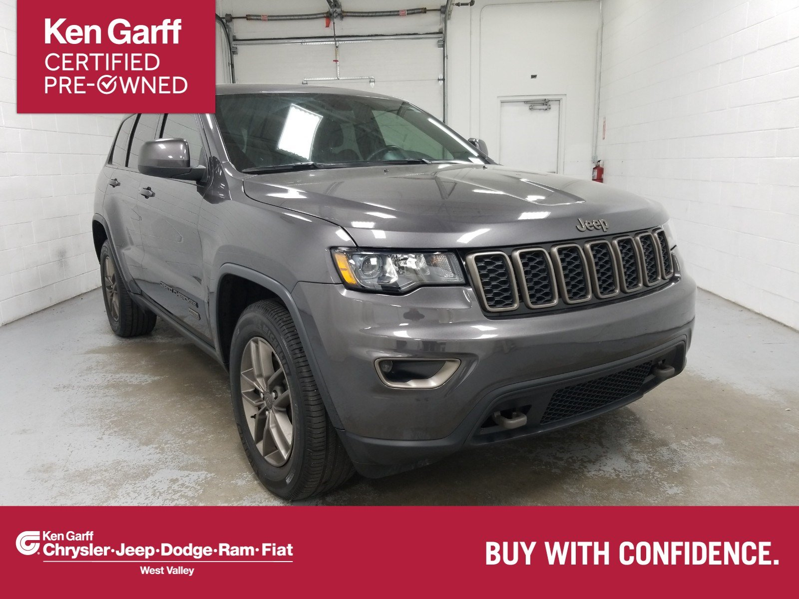 Certified Pre-Owned 2016 Jeep Grand Cherokee 75th Anniversary