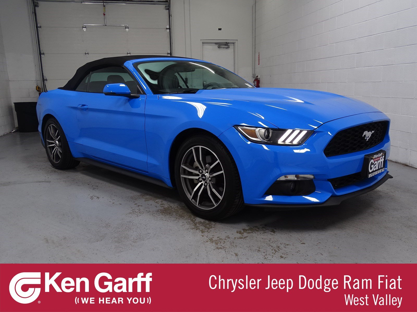 Pre Owned 2017 Ford Mustang EcoBoost Premium Convertible in WEST