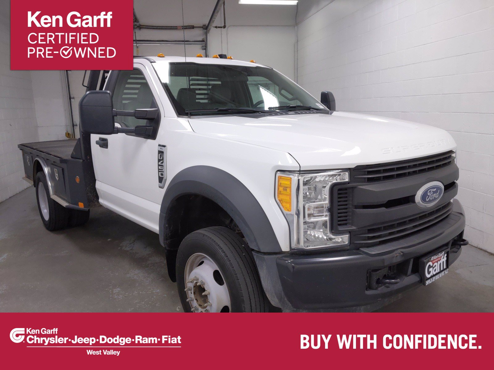 Pre-Owned 2017 Ford Super Duty F-450 DRW 2WD REG CAB