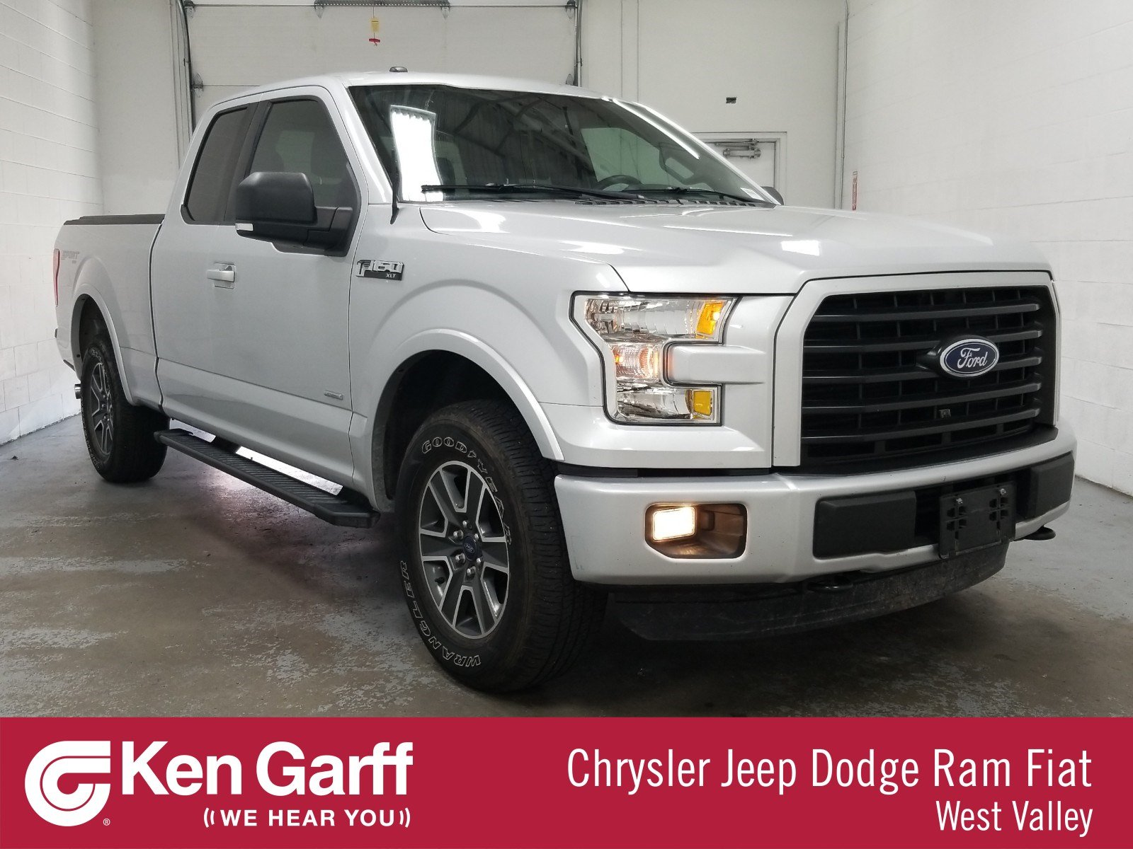 Pre-Owned 2016 Ford F-150 4WD SUPERCAB