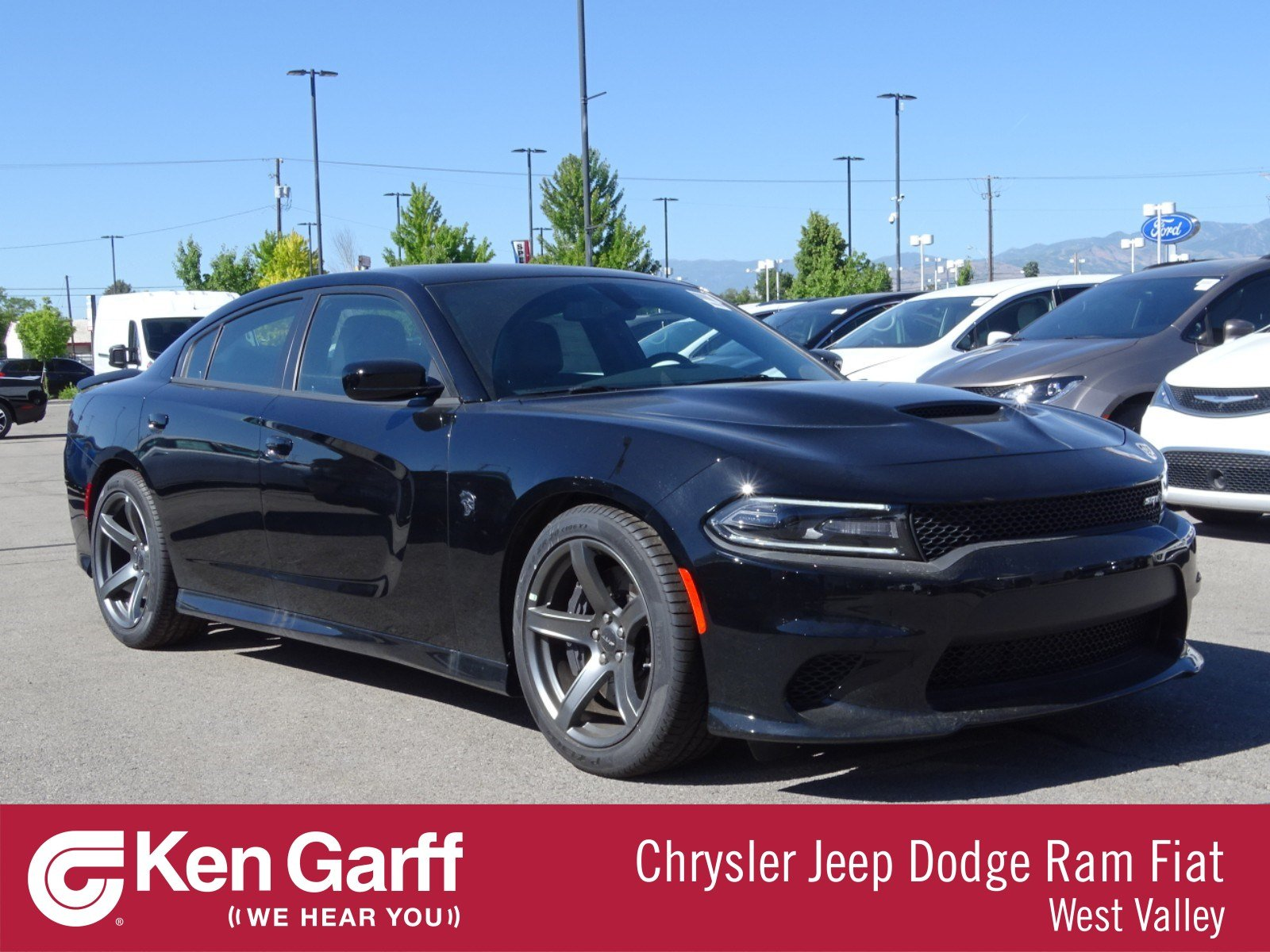 new 2018 dodge charger srt hellcat sedan in west valley city