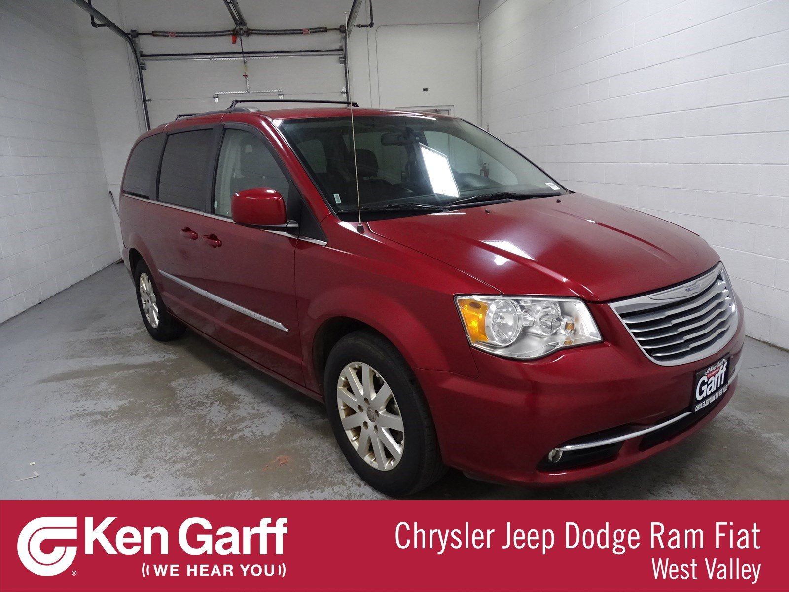 Certified Pre Owned 2016 Chrysler Town Country Touring