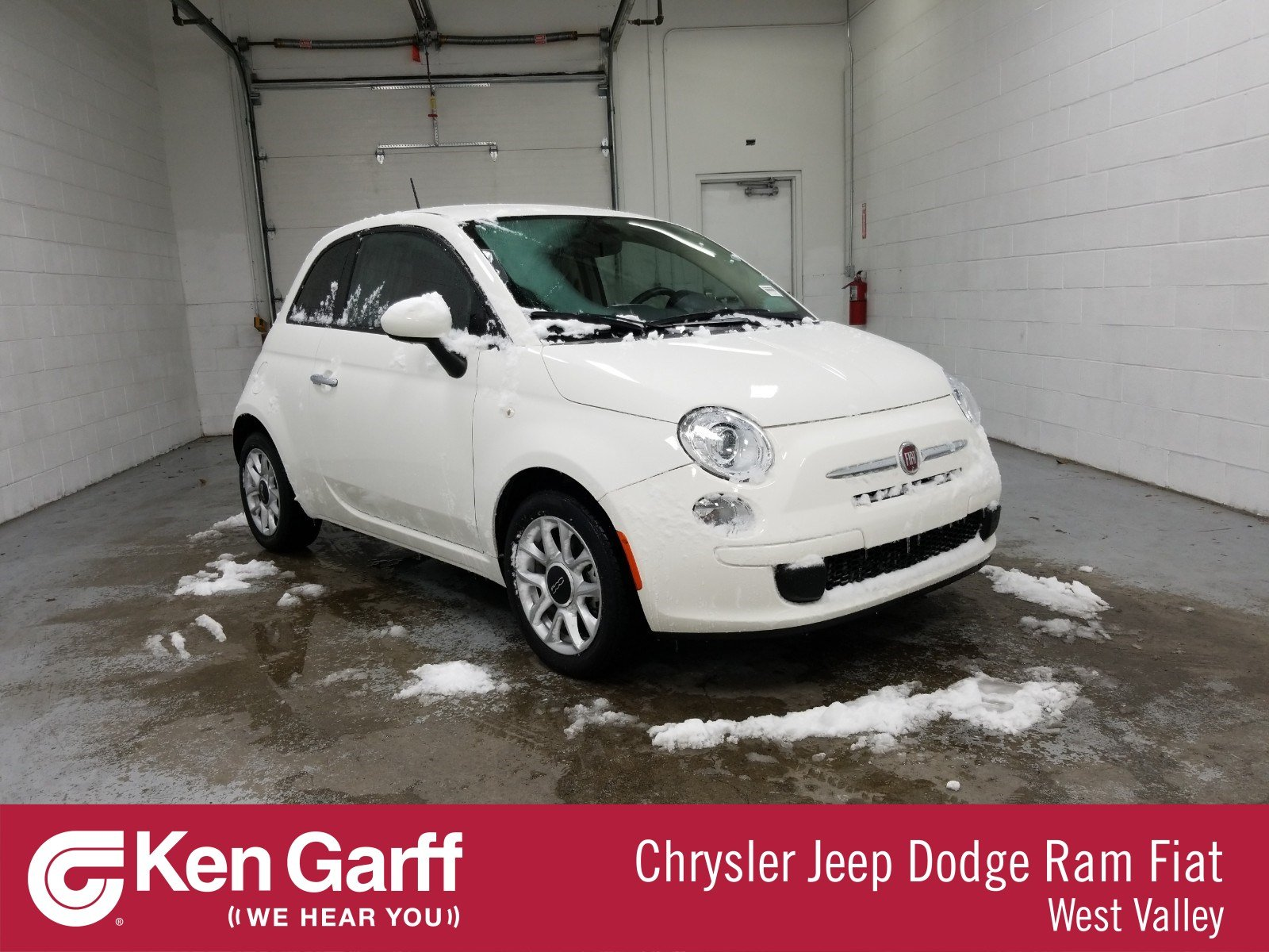 Certified Pre-Owned 2017 FIAT 500 Pop