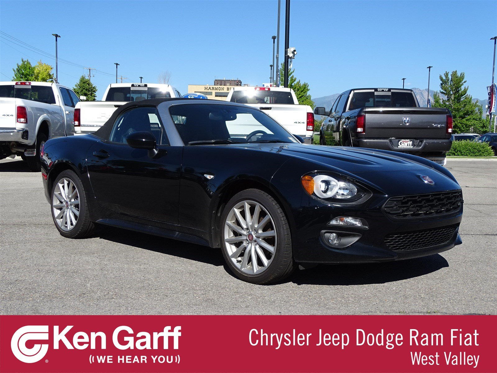 Pre Owned 2017 Fiat 124 Spider Lusso Convertible In West