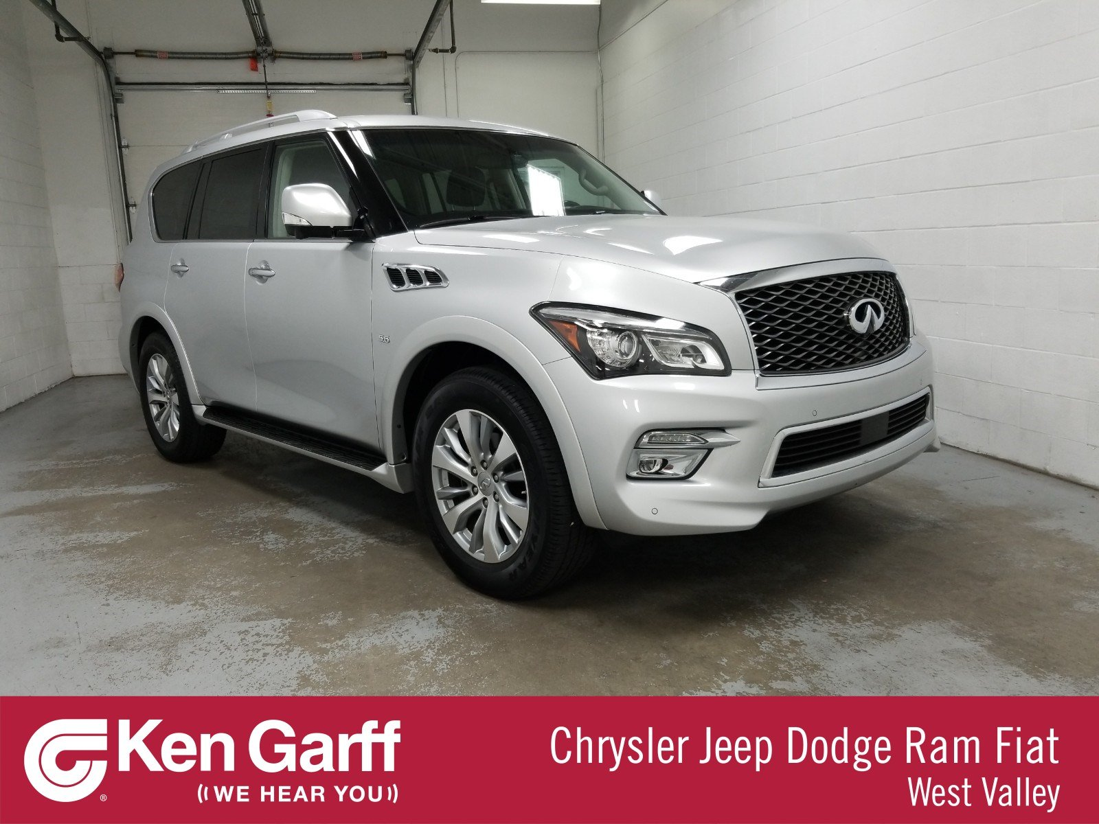 Pre-Owned 2016 INFINITI QX80 4WD 4DR