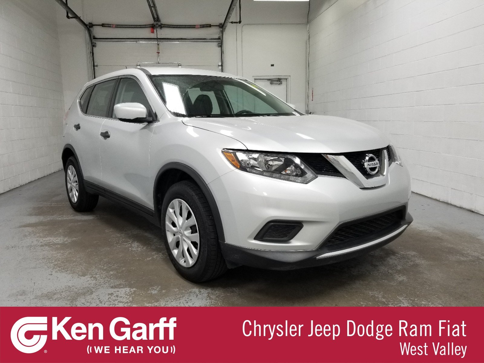 Ken Garff Used >> Pre Owned 2016 Nissan Rogue 4dr Awd S Awd