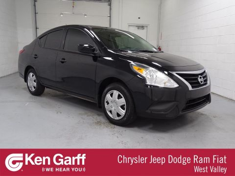 Pre-Owned 2017 Nissan Versa Sedan S